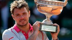 stanislas wawrinka tennis parier sport