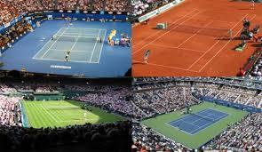 surface de jeu tennis