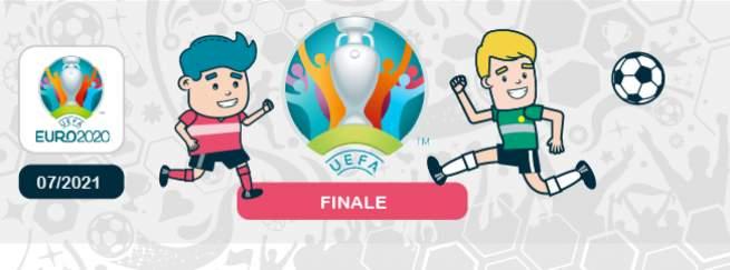 pronostic Angleterre Italie finale de l'Euro 2021