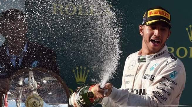 lewis F1 champion