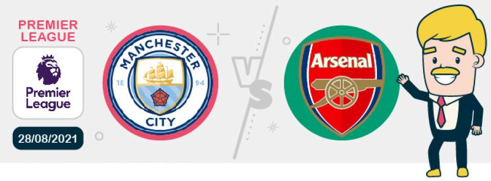 Manchester City Arsenal Samedi 28 août 2021